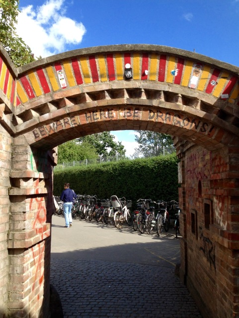 Entrance to Christiania