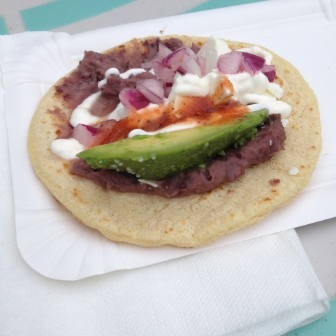 Taco - Avocado, onions, bean paste