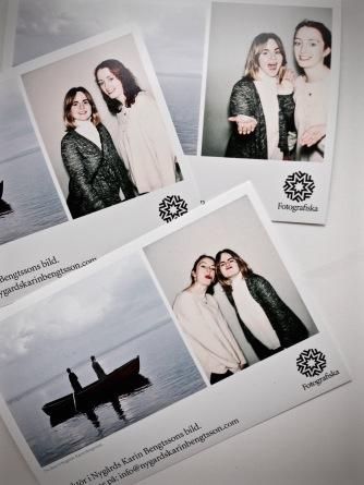 'Strange' photobooth at the Fotografiska museum