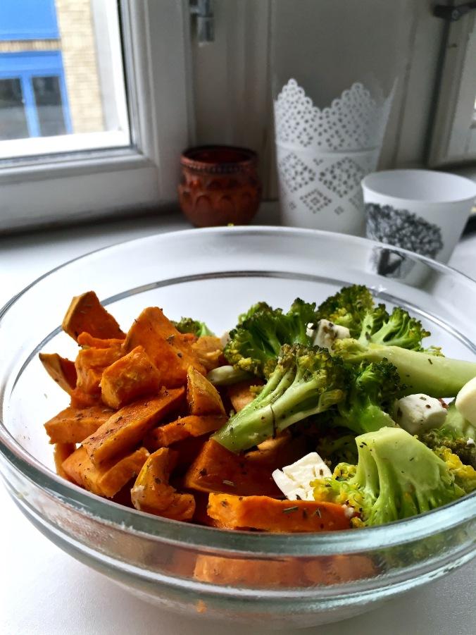 Food_Sweet potato bowl