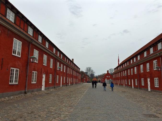 Kastellet_Red houses
