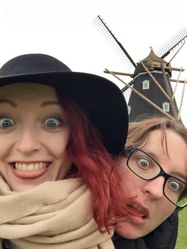 Kastellet_Windmill_Selfie_stupid