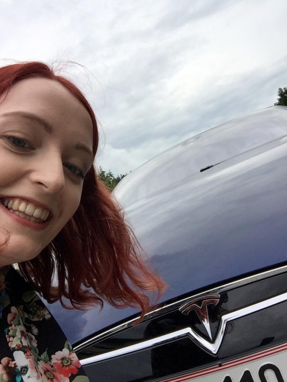 Tesla_selfie