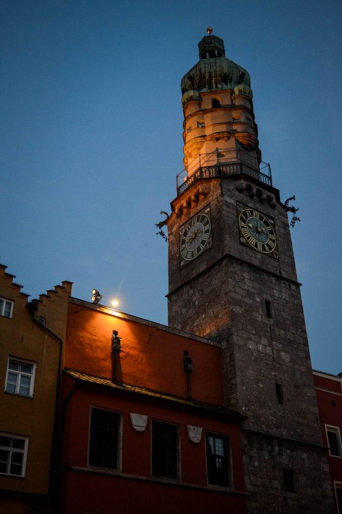 Innsbruck_city_sights_city tower