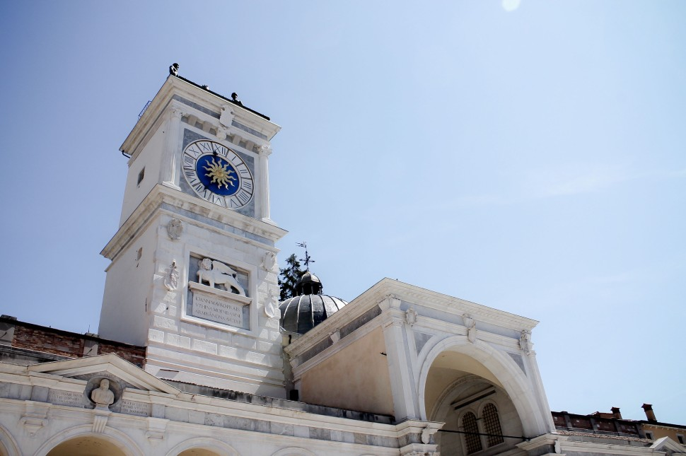 Udine_sights_piazza della liberta_clock tower