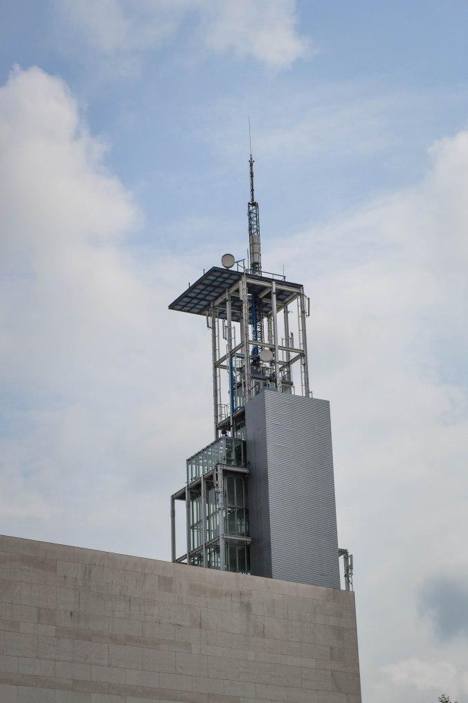 St Pölten_Klangturm_sound tower_tower_afar