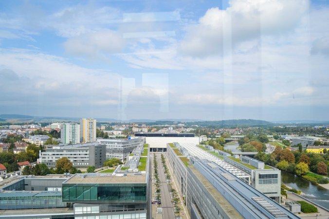 St Pölten_Klangturm_sound tower_view_landhausviertel