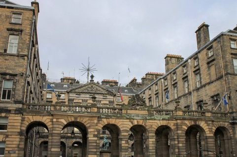 City Chambers & Royal Exchange