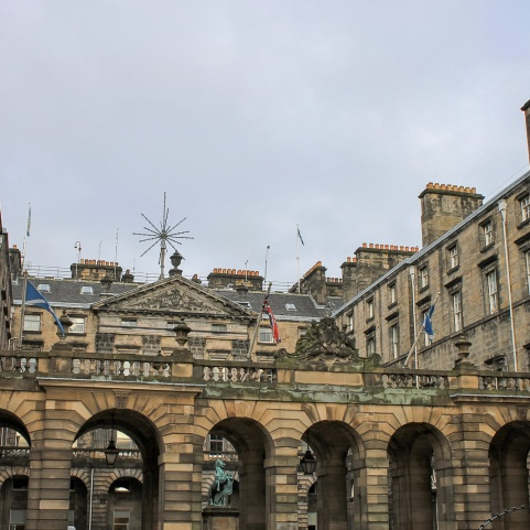 City Chambers & Royal Exchange