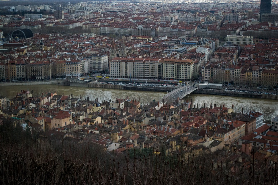 View from above at Lyon-Vieux