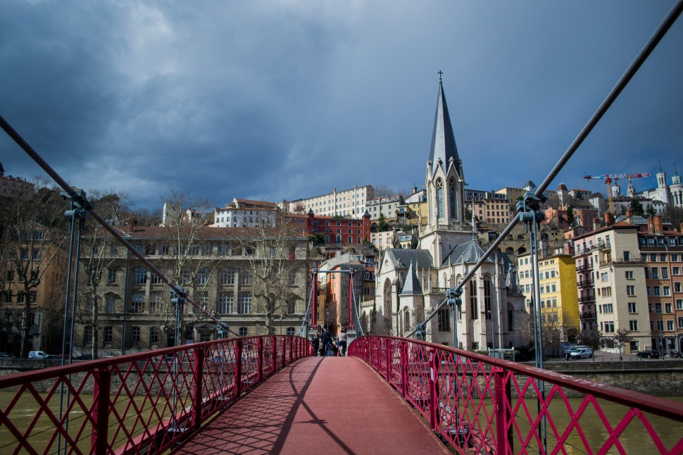 St George cathedral in Lyon