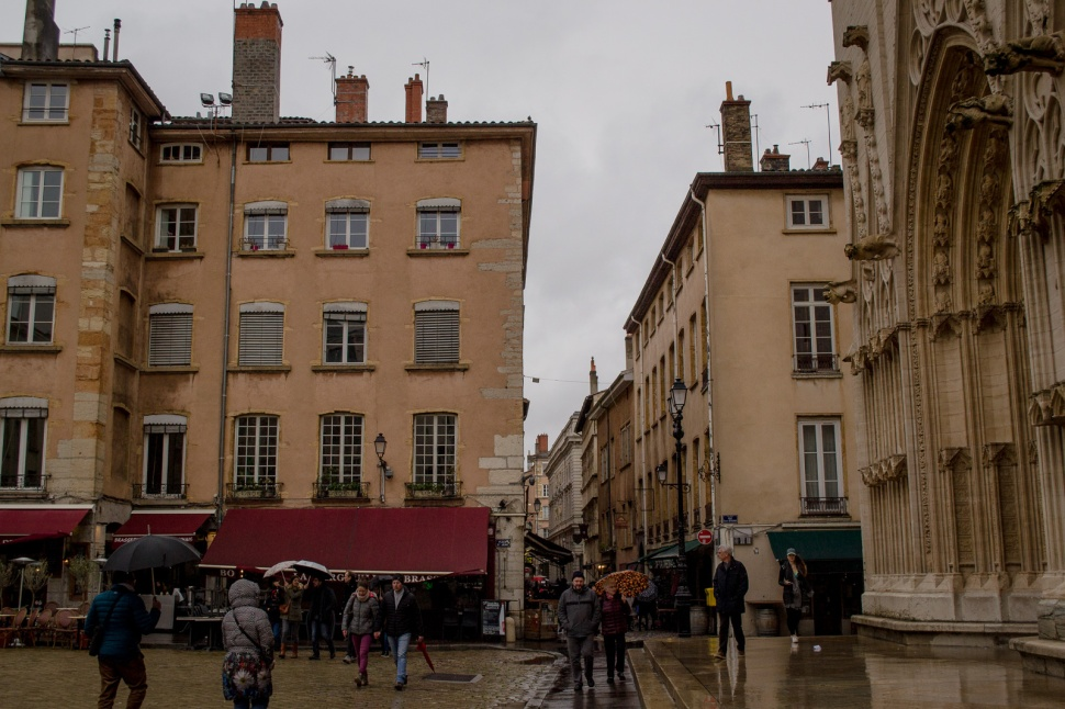 Small lanes in Lyon Old Town