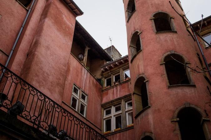 Traboule in Lyon